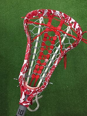 New STX Crux i Women's Lacrosse Stick - Dyed With Red Runway Pocket