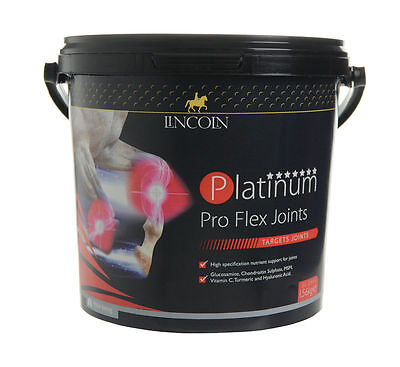 Lincoln Platinum Pro Flex Joints 1.56kg - Horse Supplements