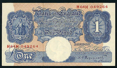 Great  Britain  -  One  Pound  Banknote