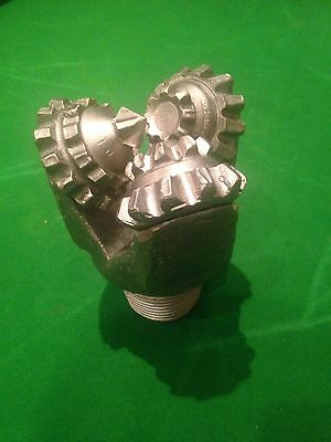 """4 3/4"""" Nickel Plated Real Tricone Drill Bit - Christmas present"""