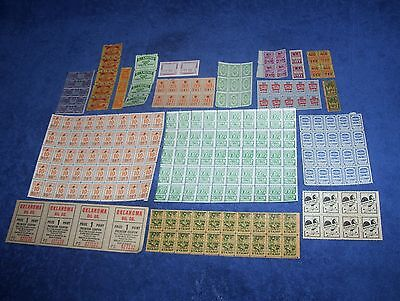 Lot of Vintage Trading Stamp Blocks Some from the Chicago Area Assortment