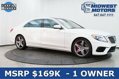 2015 Mercedes-Benz S-Class  $169 MSRP S63 AMG Distronic