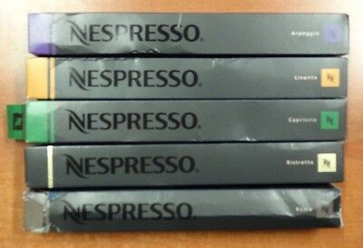 Nespresso Variety Pack for OriginalLine 50 Capsules 1.76oz (N823)