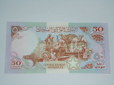 Central Bank Of Somalia- 50 Shilin- Billet Neuf- Magnifique