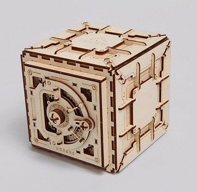 UGEARS Safe Wooden Mechanical Self Assembly Moving Kit 3D Puzzle