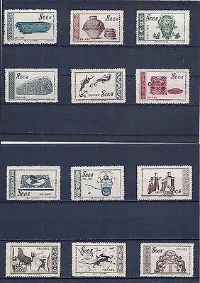 CHINA 1953  nice set of vintage stamps  (002)