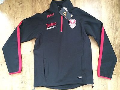 St Helens Half Zip Jacket Rugby League  40 Chest Xs Mens soft shell rrp £50.00