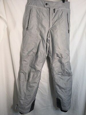 DESCENTE Men's Ski Snowboard Snow Winter PANTS Size M 34 GREY NEW FREE SHIPPING
