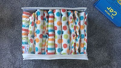 Hippychick Bumpsters Cot Bumpers, Large 10 Pack