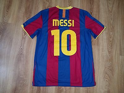 Barcelona 2010 - 2011 #10 Messi home shirt size M