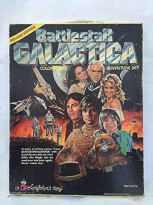 Battlestar Galactica Colourforms Set 1978