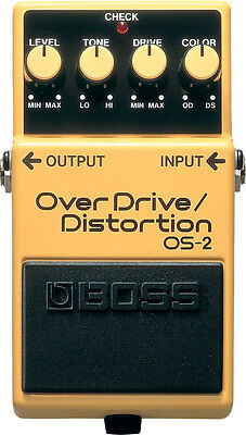 Boss OS-2 Overdrive / Distortion - Verzerrer Effektpedal