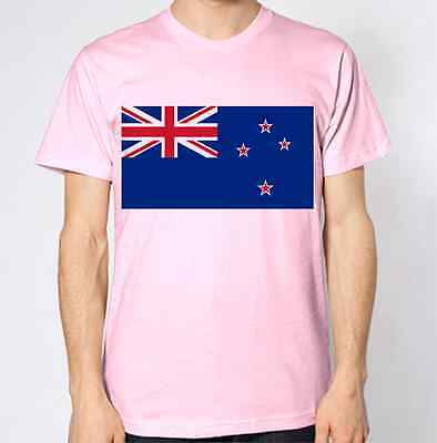New ZealandNational FlagIron On T-Shirt Transfer Print