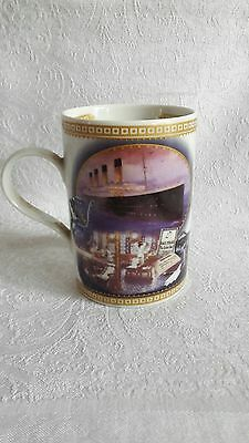 titanic mug  queen of the seas the dining saloon