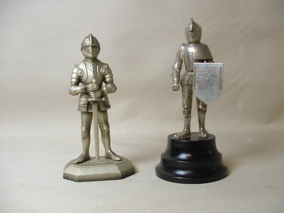 Vintage Circa 1950,s Musical Knight Lighter And A Knight Lighter