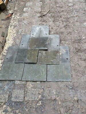 """EXCELLENT QUALITY reclaimed welsh slates 24"""" X 12"""""""