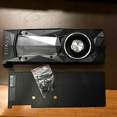 COOLER for NVIDIA GeForce GTX TITAN X PASCAL COOLER ONLY