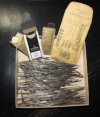 Huge Lot Vintage Hook Needles - Singer 114w103 and Cornely Chainstitch machines
