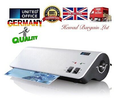 German United Office Laminator ,30 Pouches Included