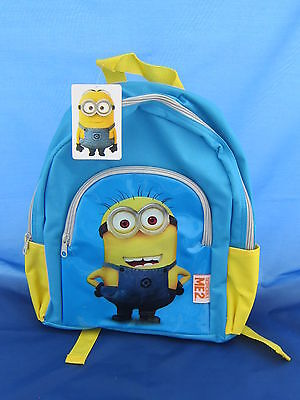 Despicable Me 2 Minnion Backpag / Bag New Tagged
