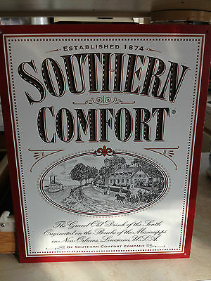 Vintage Style SOUTHERN COMFORT Tin Sign