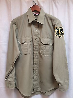 Department Of Agriculture Forest Service Uniform Shirt