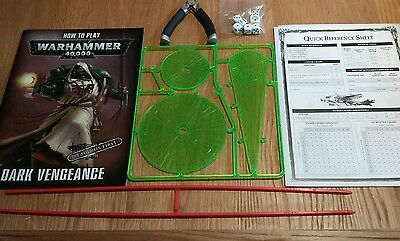 Dark Vengeance Rulebook,how To Play, Dice, Templates, Rulers & Side Cutters