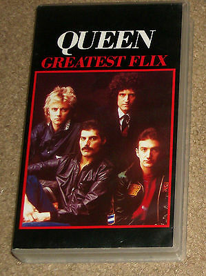 Queen Greatest Flix VHS New Import PAL