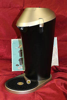 Fizzics FZ101 Revolutionary Beer System, One Size, Black and Silver, USED #U1