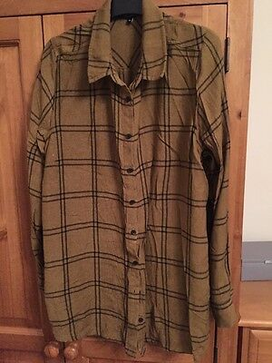 Used Newlook Maternity Checked Shirt U.K. size 14 - Good Condition