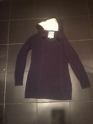 Navy New Look Jumper/dresss Size 14