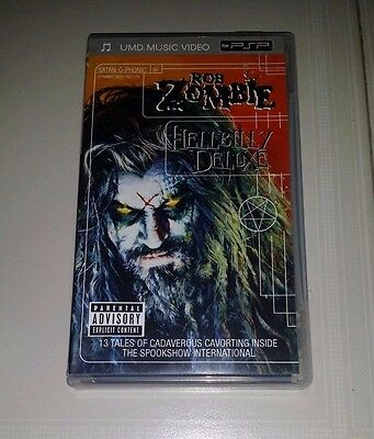 Psp Umd Music Video : **rob Zombie Hellbilly Deluxe**