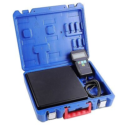Yescom 220 lbs Digital AC Refrigerant Charging Weight Scale with Case