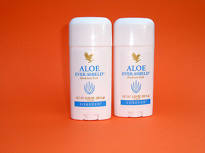 2x Forever Aloe Ever Shield Deo Stift - Aloe Vera ohne Aluminiumsalze