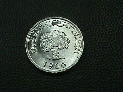 TUNISIA    2  millim    1960     BRILLIANT  UNCIRCULATED