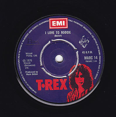 """Marc Bolan T.Rex - I Love To Boogie 7"""""""