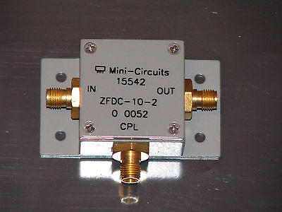 Mini Circuits Directional Coupler 10dB, ZFDC-10-2, 10 to 1000 MHz