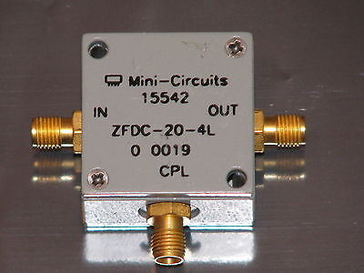 Mini Circuits Directional Coupler ZFDC-20-4L, 10 to 1000 MHz