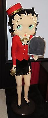 "RARE Betty Boop TRULY is LIFESIZE FIGURINE STATUE - 65"" TALL - U.S. Seller ! !"