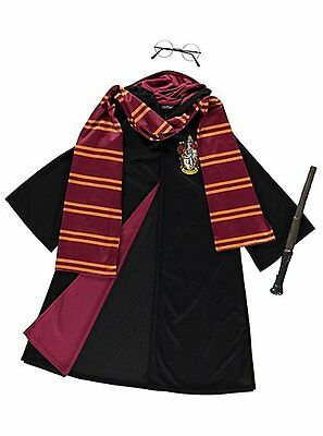 Harry Potter Gryffindor Costume Boy's Book Week Fancy Dress Outfit 5-12 years
