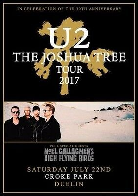 U2 - The Joshua Tree Tour 2017 - Croke Park - Pitch 1 Standing Ga - July 22