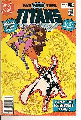 The New Teen Titans #3 by DC Comics