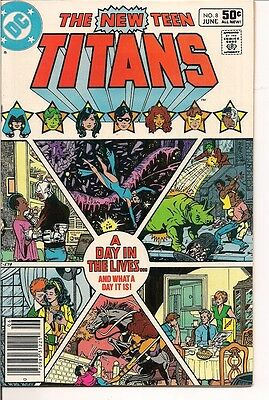 The New Teen Titans 38 by DC Comics