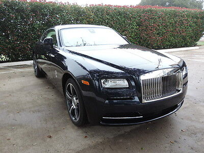 2016 Rolls-Royce Other  pectacular Wraith in Sapphire Blue Metallic with Creme' Light Interior!