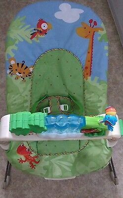 Fisher Price Rainforest Friends Deluxe Bouncer excellent condition