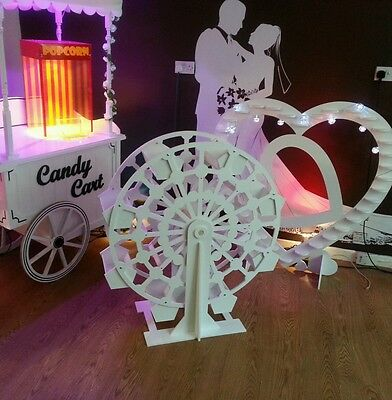 CANDY CART FERRIS WHEEL CANDY BAR FOR SALE FLAT PACK NEW 115cm tall