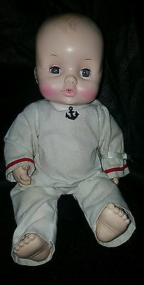 Vintage Effanbee 1969 Butterball Baby Doll #6569
