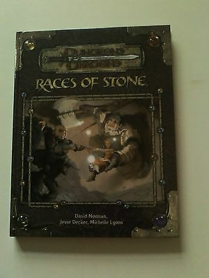 Dungeons & Dragons 3.5 Races of Stone