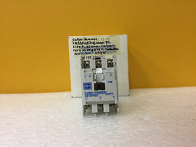 Cutler Hammer CE15FNS3AB  32 A, 110 / 120 V, 25 HP @ 575V Contactor. New in Box!