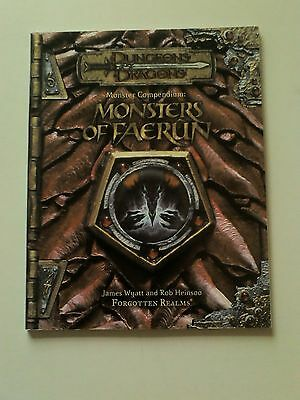 Dungeons & Dragons 3.5 Monsters of Faerun